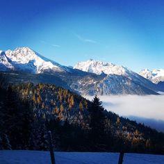 Frühwinter im Forstbetrieb Berchtesgaden ❄ 🎿 🏂 🗻 ⛄ #berchtesgaden #alpen #berge #berg #alpin #schnee #winter #panorama #traumwetter #blauerhimmel #bayern #staatswald #bergwald #wald #baysf