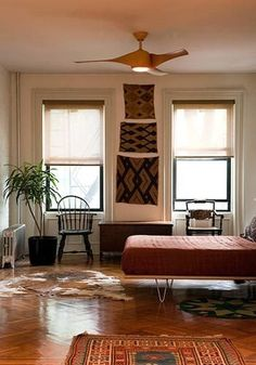 Valery's Colorful Mix in a Brooklyn Brownstone