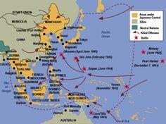 Pacific Ocean theater of World War II. Ap Us History, Family History, American History, Nagasaki, Hiroshima, Okinawa, Marine Shop, Port Arthur, Iwo Jima