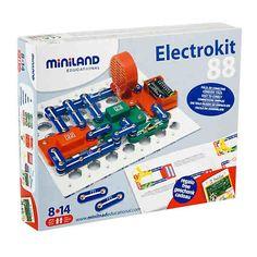 Elektrokit 88 Experimente, Miniland   myToys