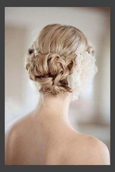 Wedding Updo Hairstyles for Medium Length Hair | updos for medium length hair short hair updos for wedding