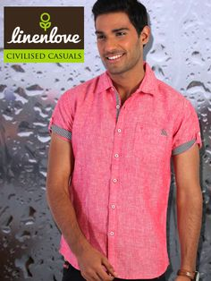 Bothered by #Rains? Wear this amazing #shirt with a pair of shorts and be #comfortable and #classy at the same time  Shop now at: http://bit.ly/1lvWNiH