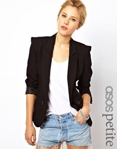 ASOS PETITE Tailored Blazer $122.88 to $33.87. OUT OF STOCK :(