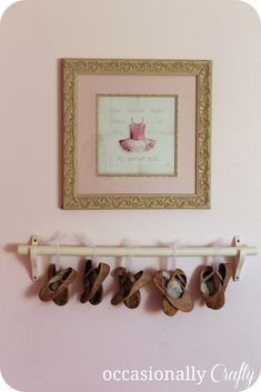 9f11c49f81 display ballet shoes - Google Search Dance Bedroom