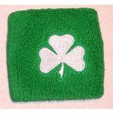 Shamrock Embroidered Wristband
