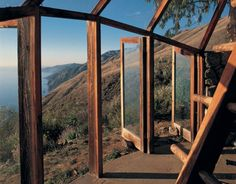 """Read """"Mickey Muenning Dreams and Realizations for A Living Architecture"""" by Mickey Muenning available from Rakuten Kobo. This is the first monograph featuring the work of architect Mickey Muennig. Muennig is an important proponent of organic. Creative Architecture, Study Architecture, Organic Architecture, Amazing Architecture, Architecture Details, Dome Greenhouse, Big Sur California, Built In Microwave, Modern Buildings"""
