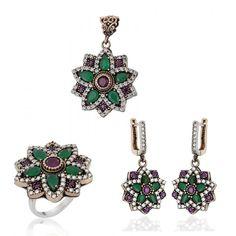 Authentic Sterling Silver Ruby Emerald Stone Jewelry www.hanedansilver.com #Roxelana #East #Market #Hurrem #Jewellers #Silver #Earring #Jewelers #Ottoman #GrandBazaar #Earring #Silver #Pendant #Silver #Bracelet #Anadolu #Schmuck #Silver #Bead #Bracelet #East #Authentic #Jewelry #Necklace #Jewellery #Silver #Ring #Silver #Necklace #Pendant #Antique #istanbul #Turkiye #Reliable #Outlet #Wholesale #Jewelry #Factory