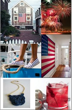 red white and blue, my 3 fav colors!  and my fav holiday, well Easter's up there too,, Bunnies!