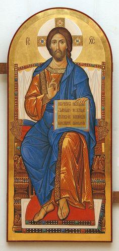 ICONO Pictures Of Jesus Christ, Religious Pictures, Religious Icons, Religious Art, Byzantine Icons, Byzantine Art, Jesus Tatoo, Christ Pantocrator, Christian Artwork