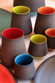 Ceramics – earth and form Source by archandhome Ceramic Cups, Ceramic Pottery, Pottery Art, Ceramic Art, Pottery Patterns, Pottery Designs, Pottery Gifts, Clay Cup, Keramik Vase