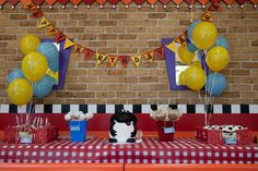 Timmy Time Birthday Party Ideas | Photo 1 of 7 | Catch My Party