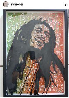 #art #zweroner #painting #bobmarley #jamaican Bob Marley Day, Reggae Music, Art Deco, Happy, Anniversary, Painting, Calligraphy, Painting Art, Ser Feliz