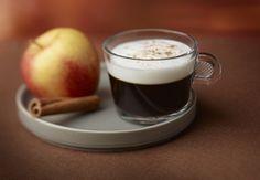 Café aromatizado con manzana y jengibre