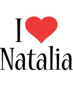 Natalia Logo | Name Logo Generator - Kiddo, I Love, Colors Style