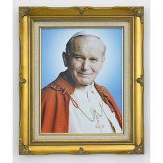 Pope Saint John Paul II Framed Print, 11x14
