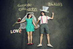 save the date – inspirações DIY | Lápis de Noiva
