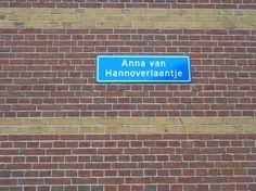 Foto - Google Foto's anna van hannoverlaantje tussen de beijerstraat en sint anthonystraat