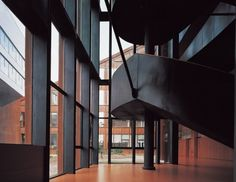 Image 17 of 19 from gallery of An Interview With Zhang Bin, Atelier Z+. Photograph by Zhang Siye Steel Panels, Corten Steel, Peaceful Places, Main Entrance, Private Garden, Contemporary Architecture, Landscape Design, Centre, Stairs