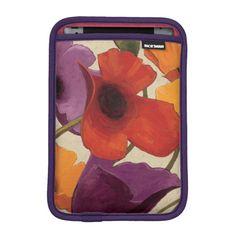 Shop Spring Poppies Sleeve For iPad Mini created by wildapple. Ipad Sleeve, Ipad Mini 2, Dog Bowtie, Apple Ipad, Slipcovers, Laptop Sleeves, Poppies, Create Yourself, Spring