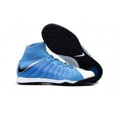 timeless design 7d507 c4c77 Compra Botas De Futbol Nike HypervenomX Proximo II DF TF Azul foto Negro  Blanco