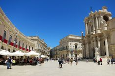 One big film set | films made in Sicily | The Thinking Traveller