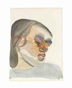 LUCIAN FREUD (1922-2011) HEAD OF A CHILD III