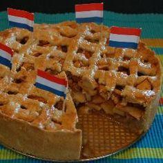Hollandse appeltaart Apple Cake Recipes, Tart Recipes, Sweet Recipes, Dessert Recipes, Moist Apple Cake, Tiramisu Recipe, Dutch Recipes, Other Recipes, International Recipes