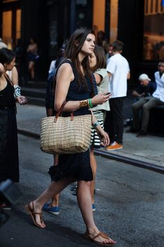 Must-Buy Summer Essential: The Straw Bag