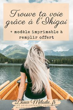 Comment trouver sa voie grâce à l'exercice de l'Ikigai #ikigai #missiondevie #trouversavoie #vocation #vieprofessionnelle #reconversion Positive Mind, Positive Attitude, Miracle Morning, Amai, I Feel Good, Life Organization, Adolescence, Motivation, Self Esteem