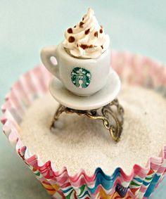 Starbucks Ring by jilliciouscharms ($8.50 USD) | http://www.luulla.com/product/60974/starbucks-ring