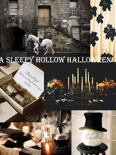 The Legend of Sleepy Hollow inspiration for Halloween