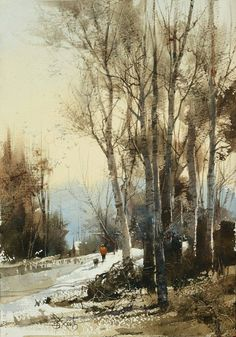 Amazing watercolor paintings by Chien Chung Wei
