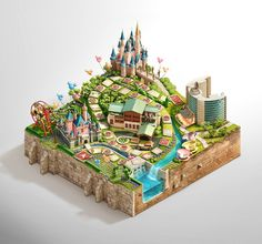 Disney Vacation Club Sweepstakes by Peter Jaworowski, via Behance