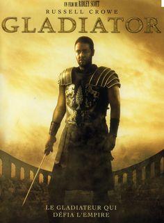 GLADIATOR. RIDLEY SCOTT. 2000 Général de l'armée romaine, les intrigues de Rome vont le faire passer des champs de bataille aux arènes. Excellent Russell Crowe