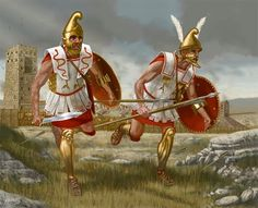 """Hoplite Run"" made famous for its use against the Persian archers and light infantry. It was utilized to minimize casualties to quickly close the gap between their enemies during an arrow barrage so that they could engage the enemy in close combat which the Greek hoplites excelled in."