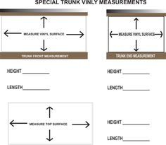 How to Measure a Tack Trunk  from tacktrunks.net