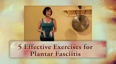 5 Effective Exercises for Plantar Fasciitis with Lulu Peelle, Yoga Therapist - YouTube