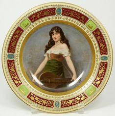Royal Vienna Portrait Plate | Royal Vienna portrait plate | PORCELAIN, ETC 11 | Pinterest