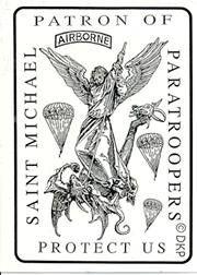 Patron Saint of the Paratrooper Saint Michael