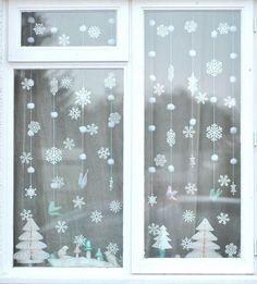 NOWE zimowe dekoracje na okna, które musisz zobaczyć!