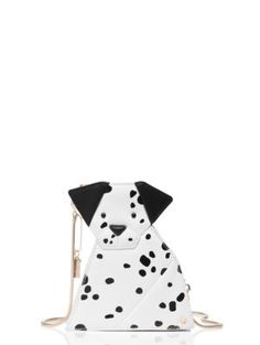 spotted: a stylish-yet-playful crossbody bag--designed to look like one of our favorite posh pooches--that's chic enough to wear with anything in your wardrobe, and roomy enough to carry all of your evening-out essentials.