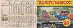 Ezúttal tovább lépdelünk az időbe és az 1969-es Matchbox katalógust vehetitek egy kicsit közelebbről szemügyre.
