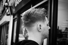 Drop Fade + Short Men's Haircut