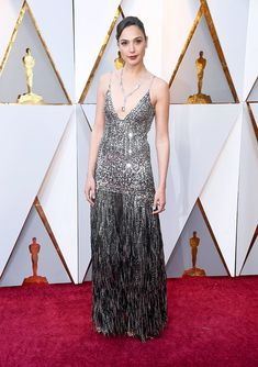 Gal Gadot in Givenchy at the Oscars Red Carpet