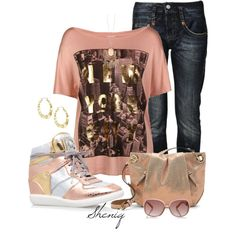 """Casual Chic by Sheniq"" by sheniq on Polyvore"