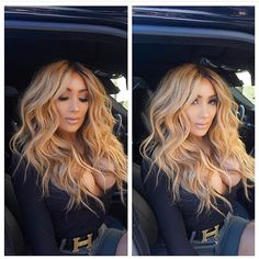 miss nikki baby Pretty Hairstyles, Straight Hairstyles, Braided Hairstyles, Hairstyle Ideas, Love Hair, Hair Dos, Fall Hair, Ombre Hair, Dyed Hair