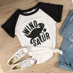 Girls Night Winosaur Shirt