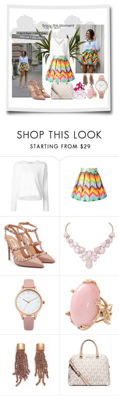"""moments"" by mell-2405 ❤ liked on Polyvore featuring T By Alexander Wang, Valentino, Humble Chic, Oasis, Lucifer Vir Honestus, PESAVENTO, MICHAEL Michael Kors and Marc Jacobs"