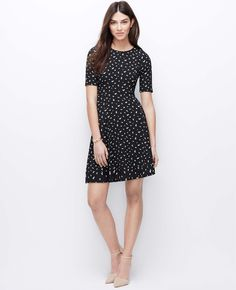 Mini Daisy Flare Dress | Ann Taylor