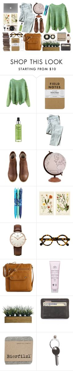 Around The World In 80 Days. by swanniboo on Polyvore featuring 7 For All Mankind, A.P.C., Kelly & Katie, Daniel Wellington, philosophy, Laura Ashley, Jamie Young, Vera Bradley, Maison Margiela and CASSETTE